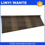 石造りの上塗を施してある金属の屋根ふき木製シートのタイル