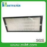 Los media de la fibra de vidrio plisaron los filtros de HEPA