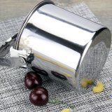 ふたのハンガーの食糧容器(FT-03201)が付いているステンレス鋼