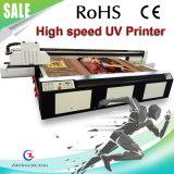 세이코 인쇄 헤드를 가진 고속 큰 체재 UV 평상형 트레일러 인쇄 기계
