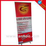 80*200cm 85*200cm Aluminiumstandplatz-Erscheinen-einziehbare Fahne