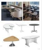 Fácil limpiar la alta mesa superior del estudio y de reuniones