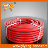 Boyau renforcé orange flexible de gaz de PVC (protection contre les incendies)