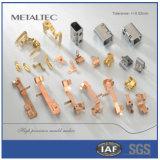 Wand-Kontaktbuchse-Teile, hohe Präzisions-Form-Metall, das Teile stempelt