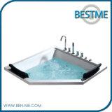 プロジェクト(BT-A1035)のための渦のマッサージの浴槽の優雅なデザインで構築される