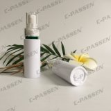 Frasco branco de empacotamento plástico do animal de estimação de Skincare com bomba da loção (PPC-PB-063)
