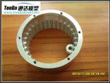 Piezas de automóvil trabajadas a máquina CNC con el material del aluminio y del acero inoxidable