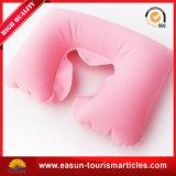 Travesseiro de pescoço de viagem em forma de PVC barato em forma de U