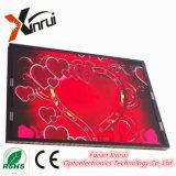 Pantalla de visualización a todo color al aire libre del módulo de P8 LED que hace publicidad de la tarjeta