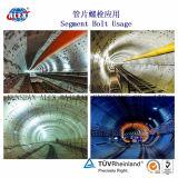Lanza concreto Perno con el zócalo construcción de túnel