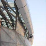 El panel de pared de aluminio de cortina de la pared exterior del techo apuesto de la decoración con la alta calidad ISO14001