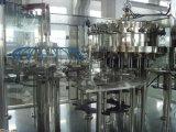 Machine à étiquettes remplissante et recouvrante rotatoire de choc en verre de machine