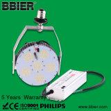 Dlc를 가진 400W Mh 램프 보충 E40 120 와트 LED 가로등은 목록으로 만들었다