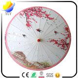 Parapluie personnalisé de papier de pétrole de logo avec le cadeau promotionnel