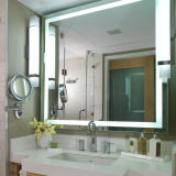 Hotel Fogless LED beleuchteten Backlit Badezimmer-Spiegel anpassen