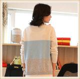 100% mongolische Kaschmir-Frauen-lange Hülsen-Pullover-Strickjacke