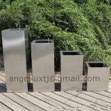 Fournisseur personnalisé de bac de fleur de planteur de jardin d'acier inoxydable de service de Chine