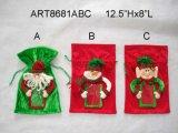 "12 ""H Decoración Navidad Doorknob Elf -2asst"