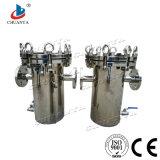 Industrieller Korb-Typ Filtergehäuse des Edelstahl-2017 für Abwasser Stystem