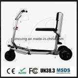 TransformableスマートなFoldable三輪車の電気スクーター