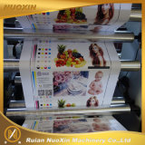高速4カラープラスチックフィルムのフレキソ印刷の印字機