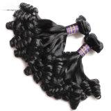 工場Gurantee 100%の人間の毛髪の加工されていないバージンのブラジル人の毛