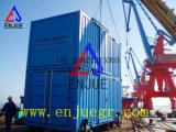 Pesaje en contenedor movible automático de la empaquetadora y unidad de empaquetamiento
