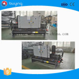 O tipo industrial água do parafuso refrigerou o refrigerador para o uso da fábrica