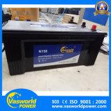 Corea del diseño del coche 12V de la batería Fabricación N150 12V150ah Batería auto