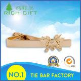 Clips de cravate en or en métal personnalisés pour cadeau promotionnel Pas de minimum