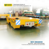 Carrinhos de transferência de plataforma baixa para transporte pesado