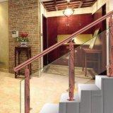 高品質の中国の風のステンレス鋼アルミニウムによって切り分けられる階段付属品のコラム