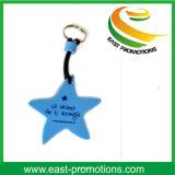 Förderung kundenspezifische Stern EVA-Schlüsselkette