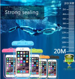 De universele Gevallen van de Telefoon van de Zak van pvc Smartphone van het Bewijs van het Water Waterdichte Mobiele (xs-YB02)
