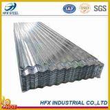 Lamiera di acciaio galvanizzata ondulata (strato del tetto, costruzione, strato ondulato rivestito del cgi dello strato dello zinco del materiale di tetto)