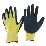背部サンディのニトリルのコーティング作業手袋中国