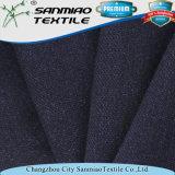 Tissu de maille teint de fils de coton de l'indigo 240GSM 100 pour le polo