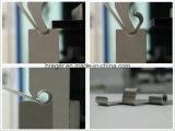 Machine à cintrer du carbone Wc67y-100X2500 de plaque hydraulique d'acier