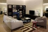 Mobilia moderna del sofà del tessuto del sofà del cuoio della casa di stile (D-76-C)