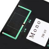 Los paneles solares de epoxy de la alta calidad 3W 6V para el módulo de DIY