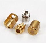 Части CNC высокой точности поворачивая подходящий с латунью/медным материалом