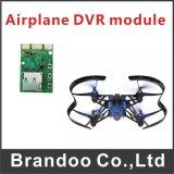 Módulo modelo do avião mini DVR, placa de DVR, placa de matriz de DVR, DVR ultra claro
