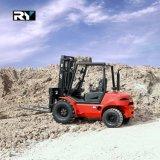 2.0-3.5 Tonnen-raues Gelände-Gabelstapler-Diesel-LKW mit Yanmar Motor