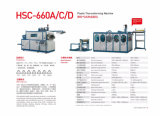 Máquina plástica de Thermoforming de la taza de Hsc-660d