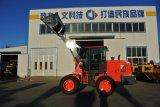 中国2tonのカナダのためのEPAエンジンそして大きいタイヤが付いている小さい前部車輪のローダー
