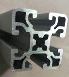 Profil industriel en aluminium anodisé par Matt argenté