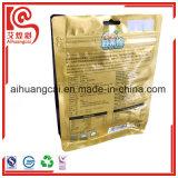 Bolso compuesto plástico de aluminio del soporte para el empaquetado de las virutas de la fruta