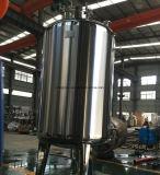 Tanque de resina de troca de iões 2000L usado no sistema de tratamento de água