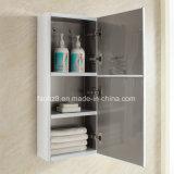 Vanidad blanca del cuarto de baño del acero inoxidable con la tarjeta lateral 088