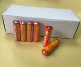 AA R6p High Discharge Time Carbon Zinc Battery (imagem real)